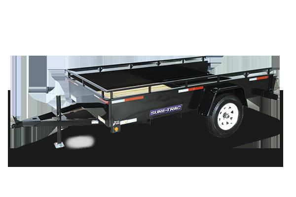 2018 Sure-Trac 5 x 8 Steel High Side, 3k Idler