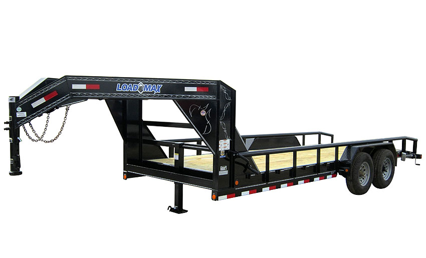 "2015 Load Trail 83"" X 22' Tandem Axle Gooseneck w/3"" X 5"" Angle Frame"