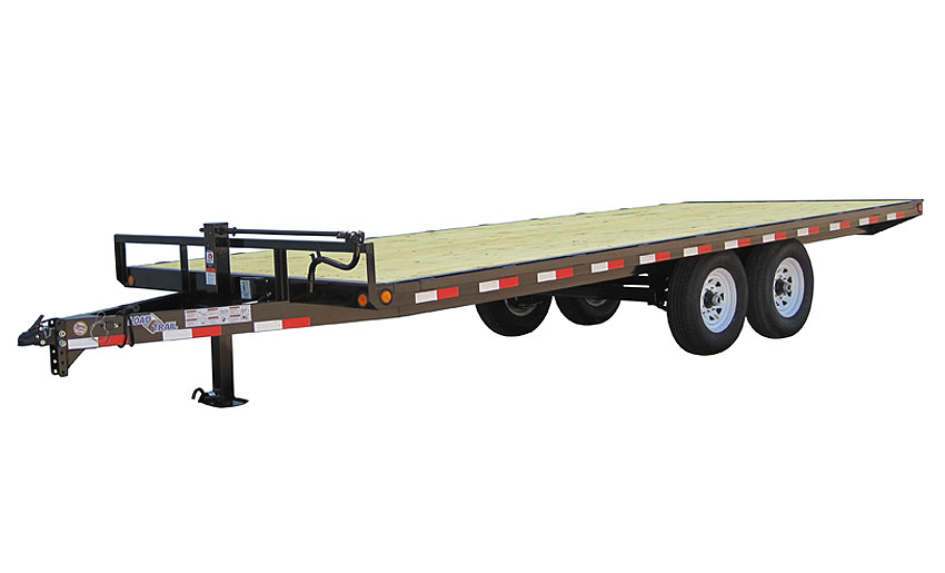 "2017 Load Trail 102"" X 14' Deck Over Pintle Hook"