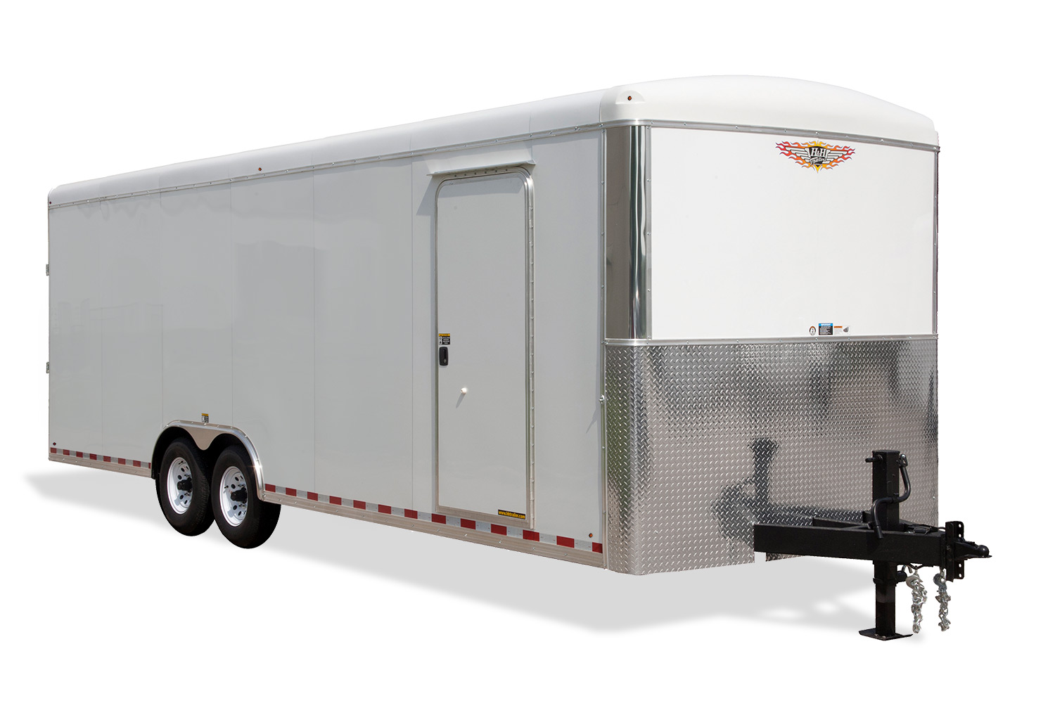 2019 H and H Trailer 101X20 TL R-TOP CARHAUL RNOSE 10K CARGO