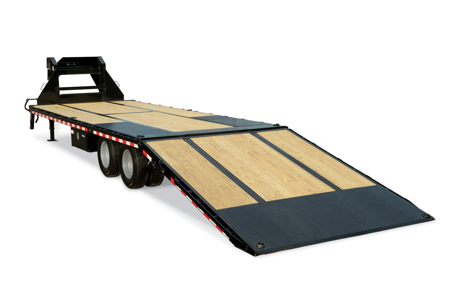2020 Sure-Trac 8.5x25+10 LowPro Hyd Deckover Tandem GN