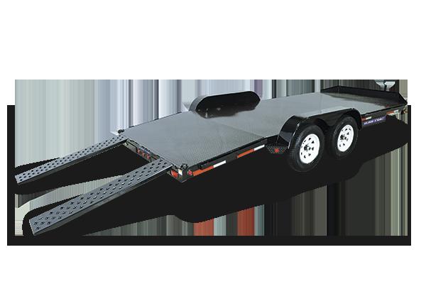2018 Sure-Trac 7 x 20 Steel Deck Car Hauler 10k