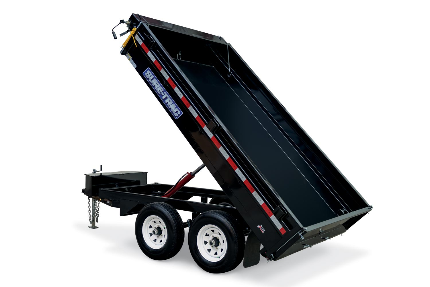 2019 Sure-Trac 6 X 10 Deckover Dump 7K Single Ram