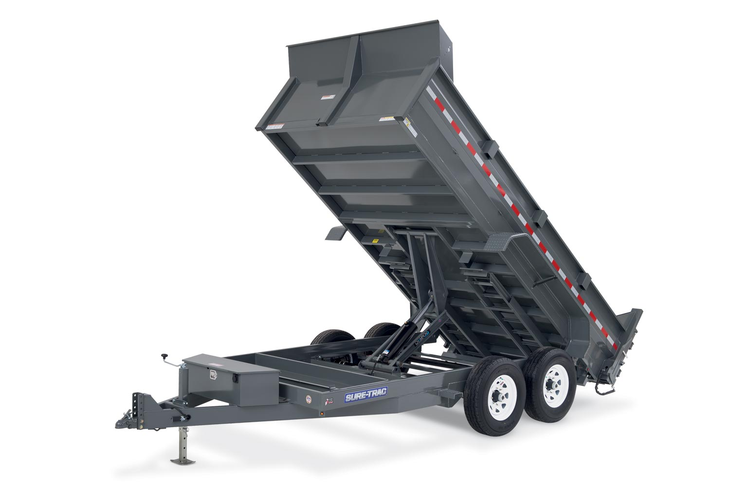 Dump Trailers I 69 Trailer Center Northeast Indianas Leading 16 Utility Wiring Harness 2019 Sure Trac 82 In X Lprofile 16k Scissor
