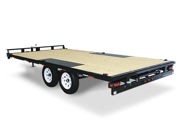 2017 Sure-Trac 8.5 X 20 Flat Deck Deckover 10k