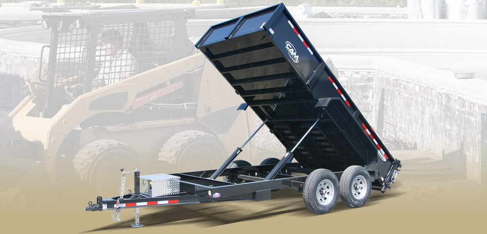 2020 Cam Superline 6.8 X 12 Advantage Series HD Low Profile Dump Trailer