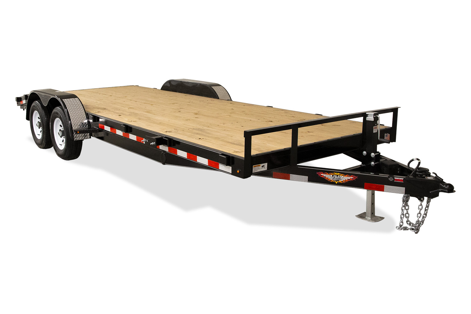 2019 H and H Trailer 82X24+2 HD FLATBED DOVE 14K