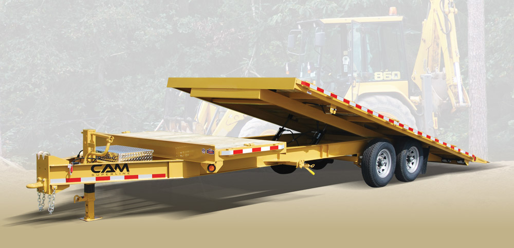 2020 Cam Superline 8 Ton Deckover Split Tilt 8.5 x 20+4 GN