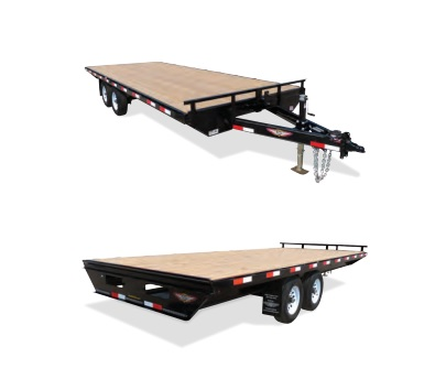 2019 H and H Trailer 102X16 14K DECKOVER LIGHT DUTY