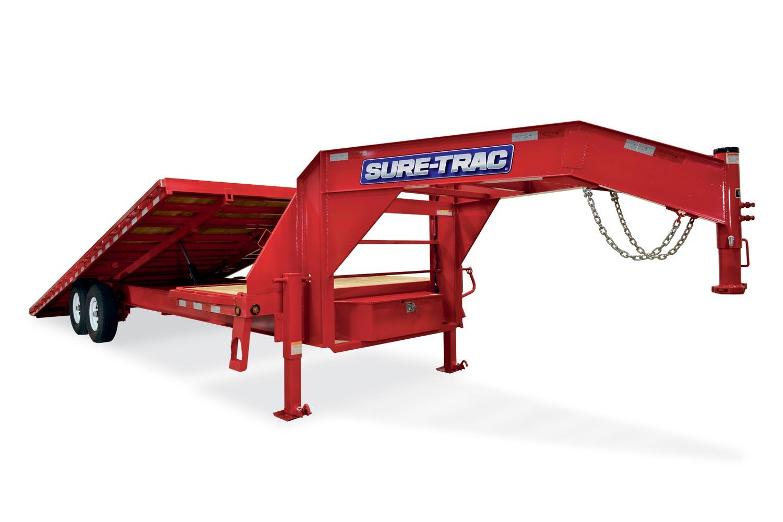 2019 Sure-Trac 102x22 Deckover Tilt Tandem GN 15K