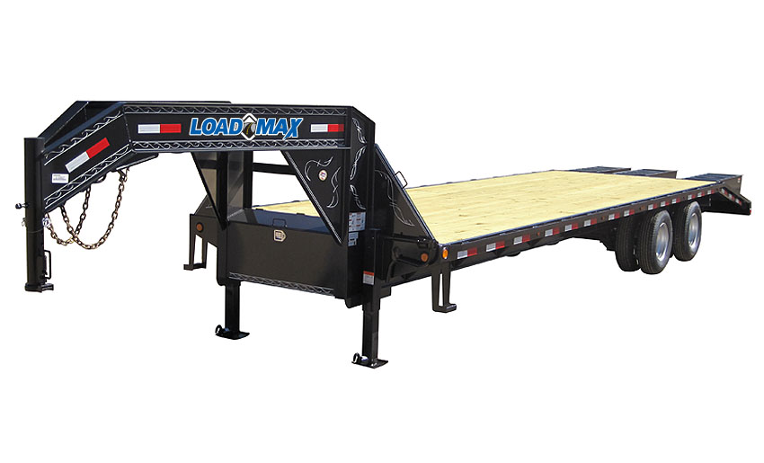 "2017 Load Trail 102"" x 40' Heavy Duty Gooseneck  2-15,000 lb Axles w/Under Frame Bridge & Pipe Bridge"