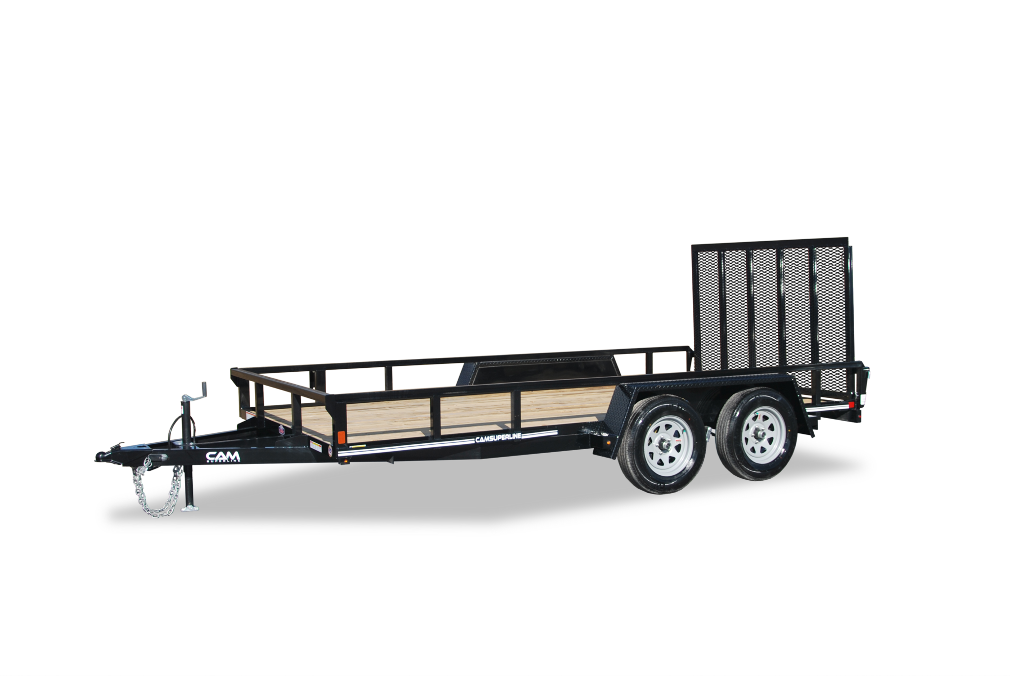 2019 Cam Superline 7 X 14 Tube Top CAM Utility 7K Tandem Trailer
