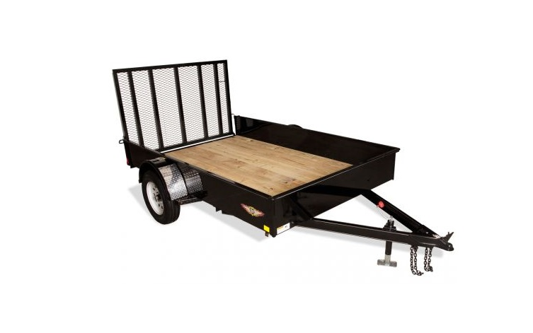 2018 H and H Trailer 8.5X12 STEEL SOLID SIDE 3.5K