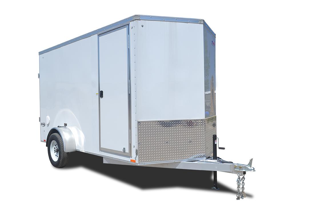 2019 Pace American Aluminum Elite 6 Wide Single Cargo Cargo / Enclosed Trailer