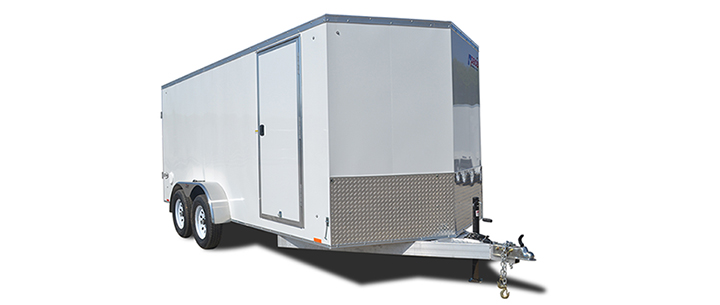 2018 Pace American Aluminum Elite 7 Wide Tandem Cargo Cargo / Enclosed Trailer