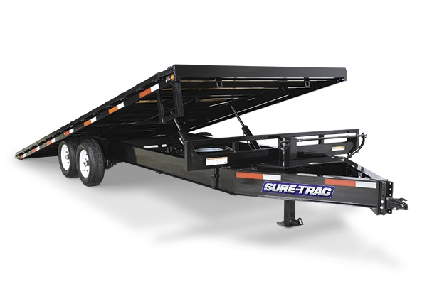 2019 Sure-Trac 102x22 Deckover Tilt Tandem BP 15K   in Ashburn, VA