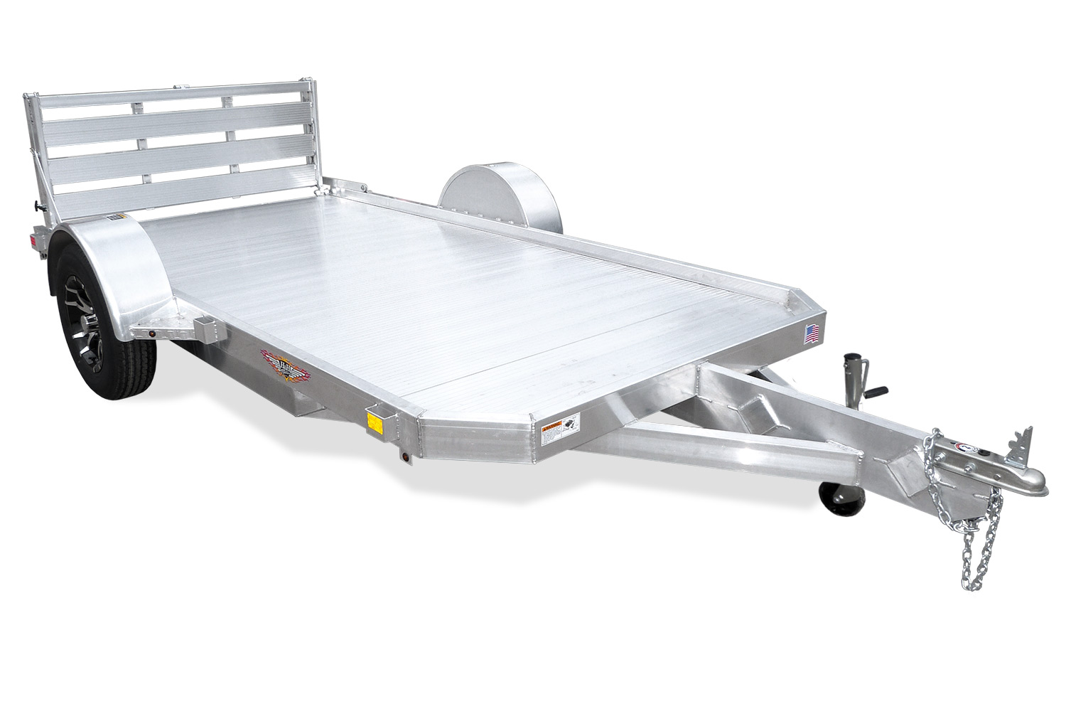 2020 H and H Trailer 78X14 LOW-SIDE ALUM 3K
