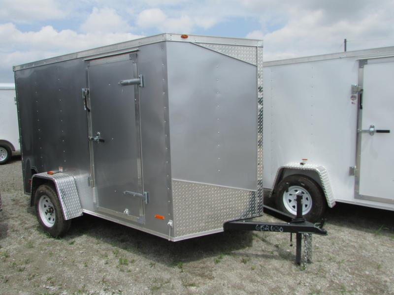 2019 RC Trailers 6 x 10 Ramp Door Enclosed Cargo Trailer in Ashburn, VA