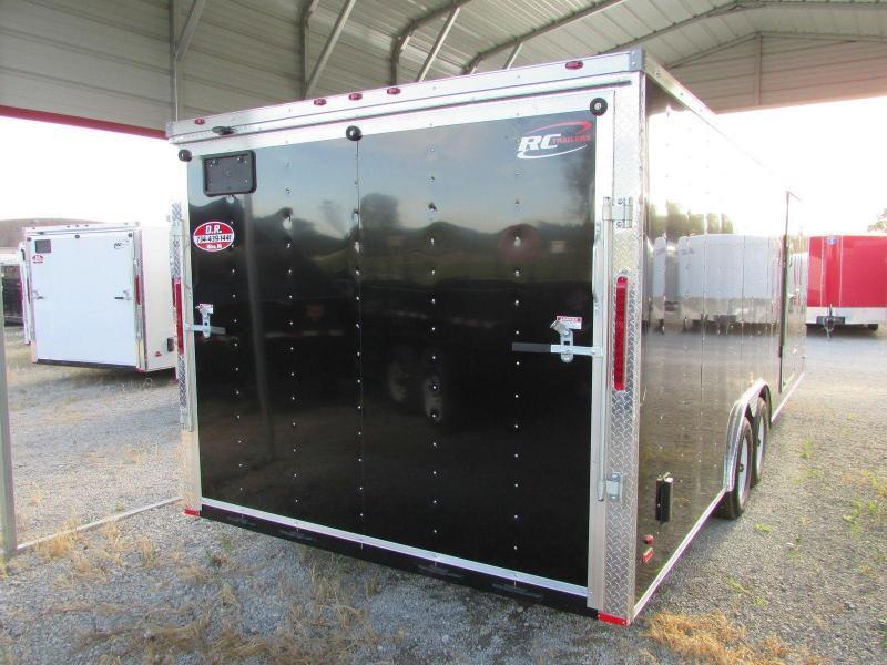 RC Trailers 24' Carhauler Cargo / Enclosed Trailer