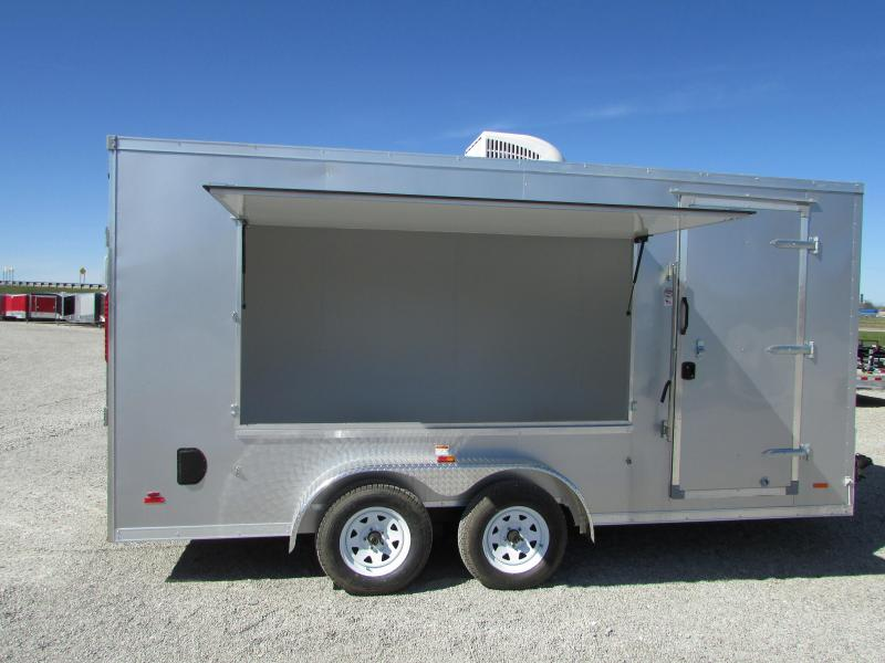 2018 RC Trailers 7 X 16 Concession Enclosed Cargo Trailer