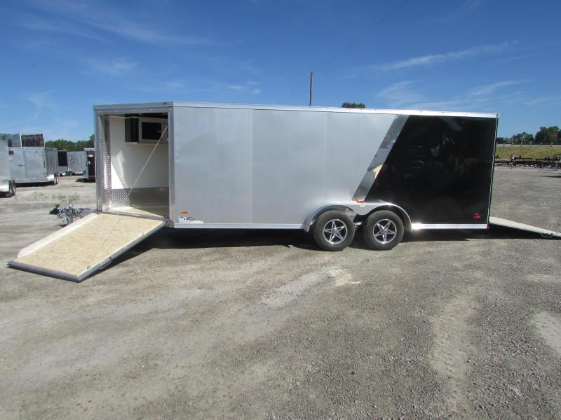 2018 RC Trailers 7 X 23 Snowmobile Enclosed Cargo Trailer