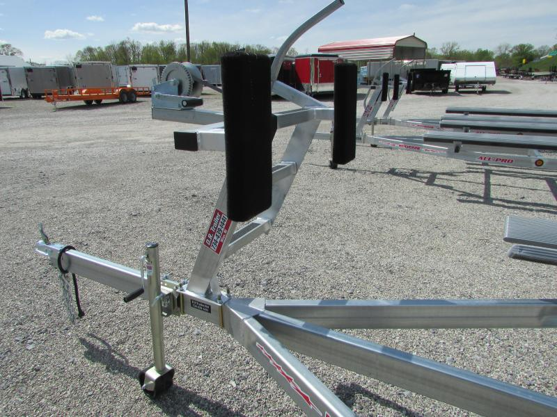 2019 Wolverine Trailers All Pro 24 Bunk Style Pontoon Boat Trailer