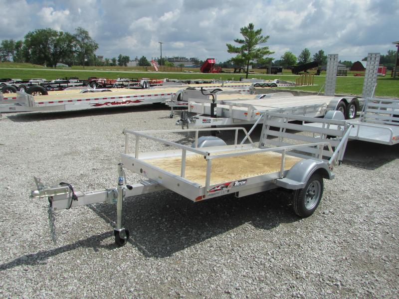 2016 Triton 5x8 Demo Aluminum Utility Trailer in Ashburn, VA