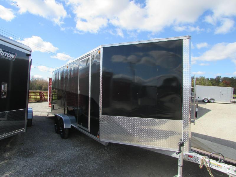 2019 Triton Trailers 7 X 23 Snowmobile Enclosed Cargo Trailer