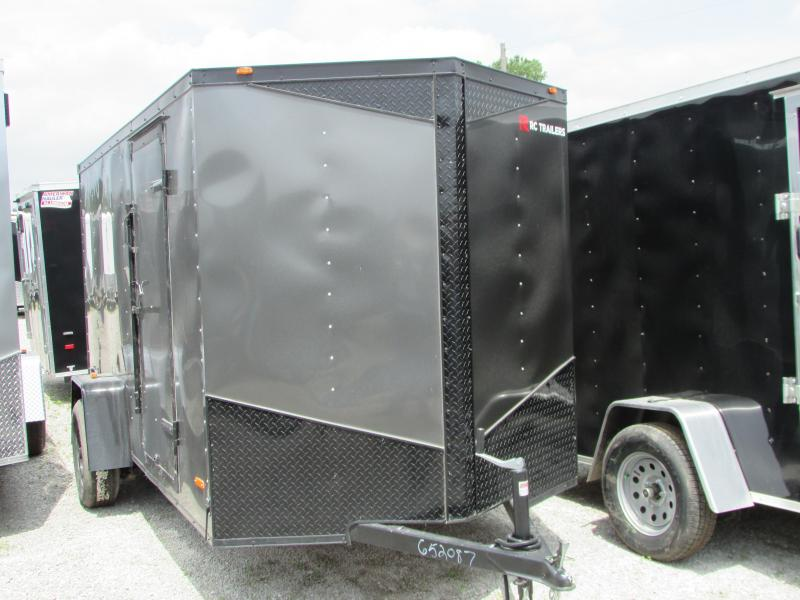 2019 RC Trailers 6 x 12 Black Out Series Enclosed Cargo Trailer in Ashburn, VA