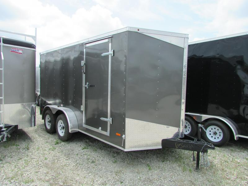 "2019 RC Trailers 7 X 14 6'6"" High Double Door Enclosed Cargo Trailer"