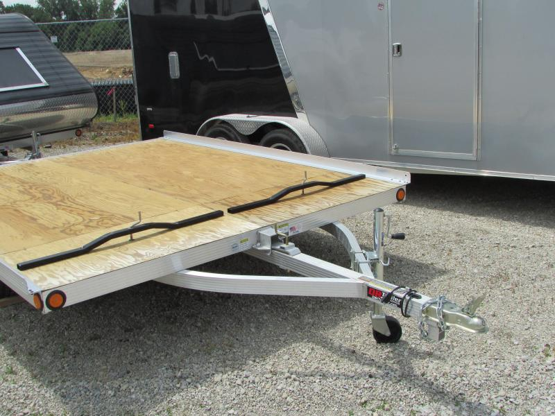 2018 Triton Trailers 10 ft Tilt Snowmobile Trailer