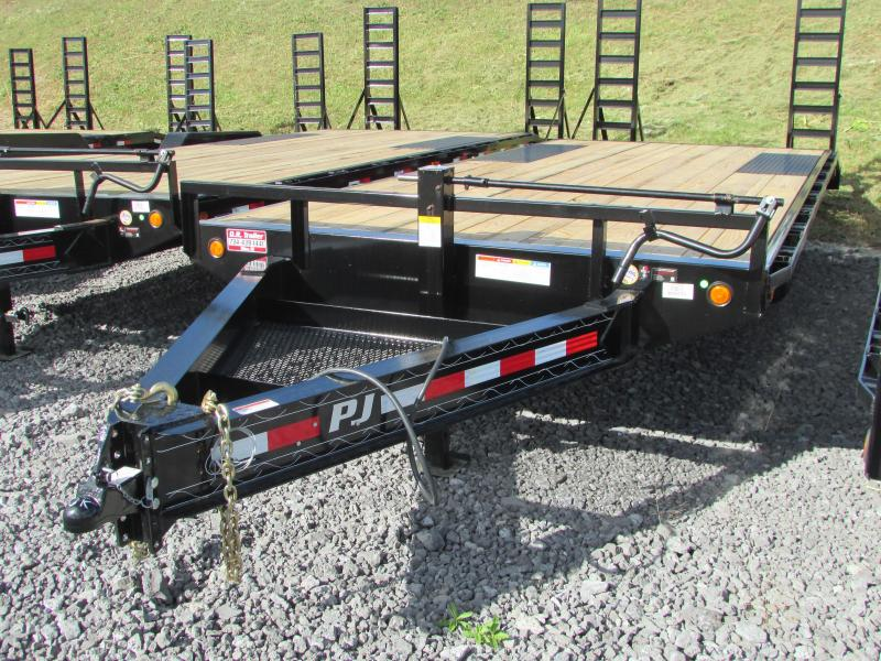 2019 PJ Trailers 22ft Deckover Flatbed Trailer