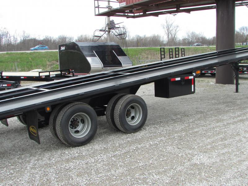 2019 Big Tex Trailers 51ft Auto Transport Flatbed Trailer
