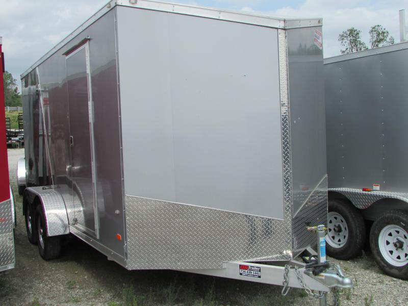 2019 American Hauler Industries 7 x 16 Aluminum Enclosed Cargo Trailer in Ashburn, VA