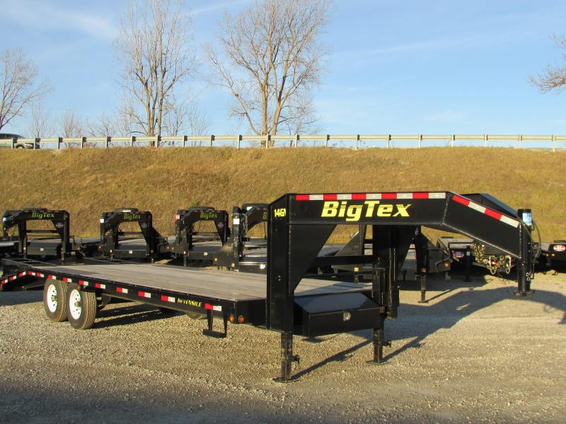 2019 Big Tex Trailers 25' Flatbed Gooseneck Trailer in Ashburn, VA