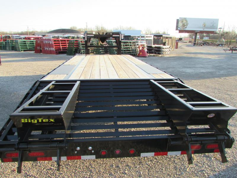 2019 Big Tex Trailers 25' Flatbed Gooseneck Trailer