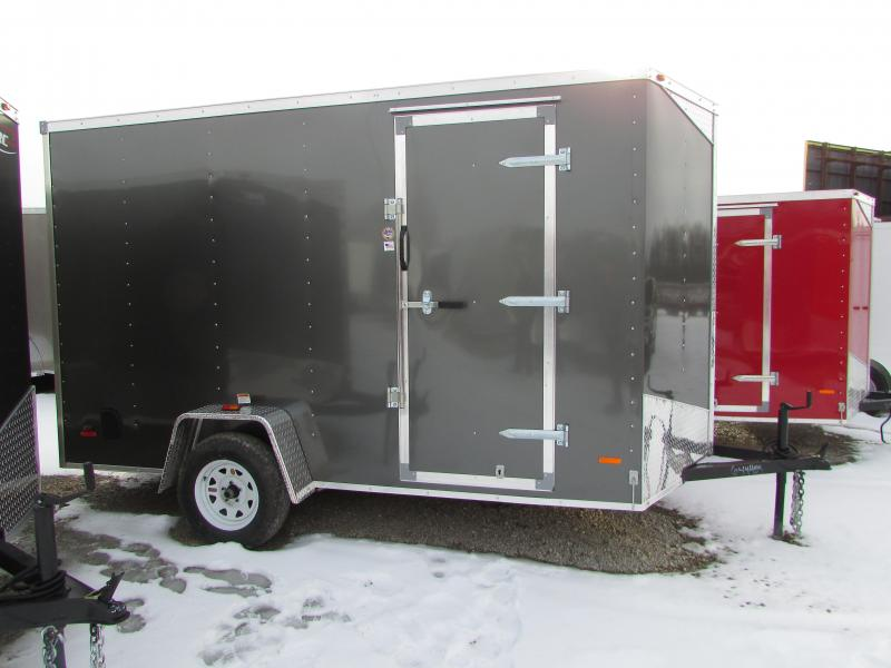 2018 RC Trailers RWT 6X12 7' High Enclosed Cargo Trailer