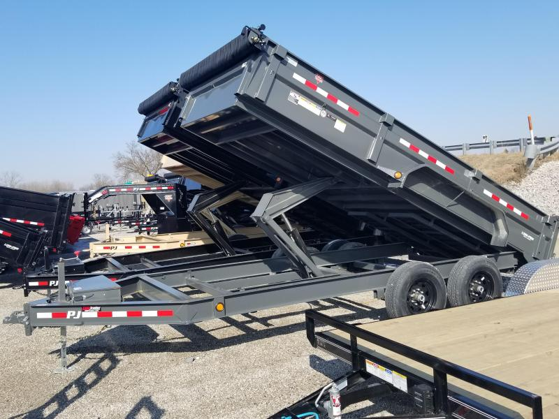 2019 PJ Trailers 16 Dump Trailer in Ashburn, VA
