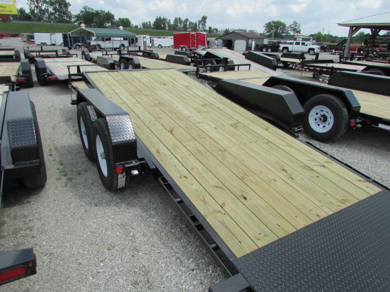 2020 PJ Trailers 22 ft Tilt Equipment Trailer