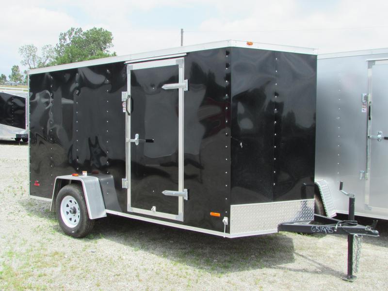 2019 RC Trailers 6 x 12 Ramp Door Enclosed Cargo Trailer