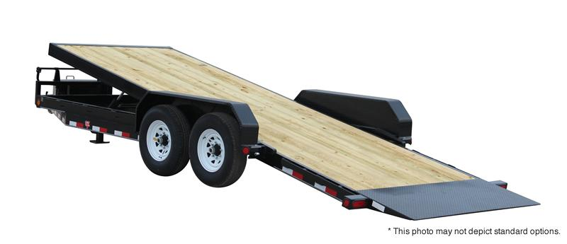 2018 PJ Trailers 22' Powered Full Tilt Trailer