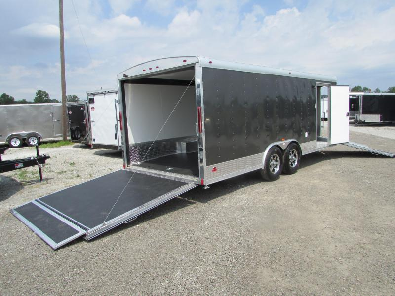 2018 RC Trailers 25' Combo Car Snowmobile Enclosed Trailer