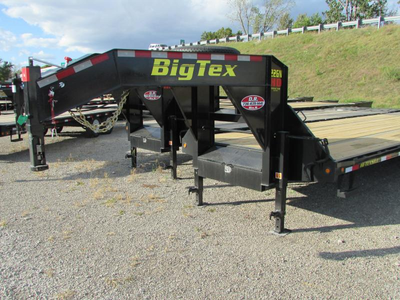 2019 Big Tex Trailers 40' Gooseneck Flatbed Trailer