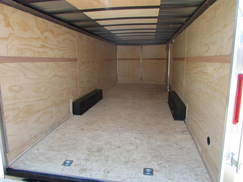 2019 RC Trailers 24 ft Car Enclosed Cargo Trailer