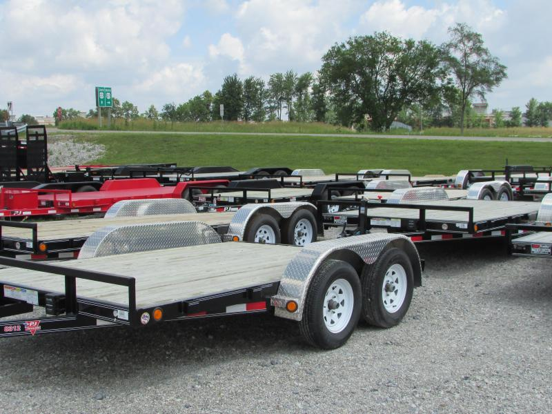 2018 PJ Trailers 12 ft Flatbed Trailer