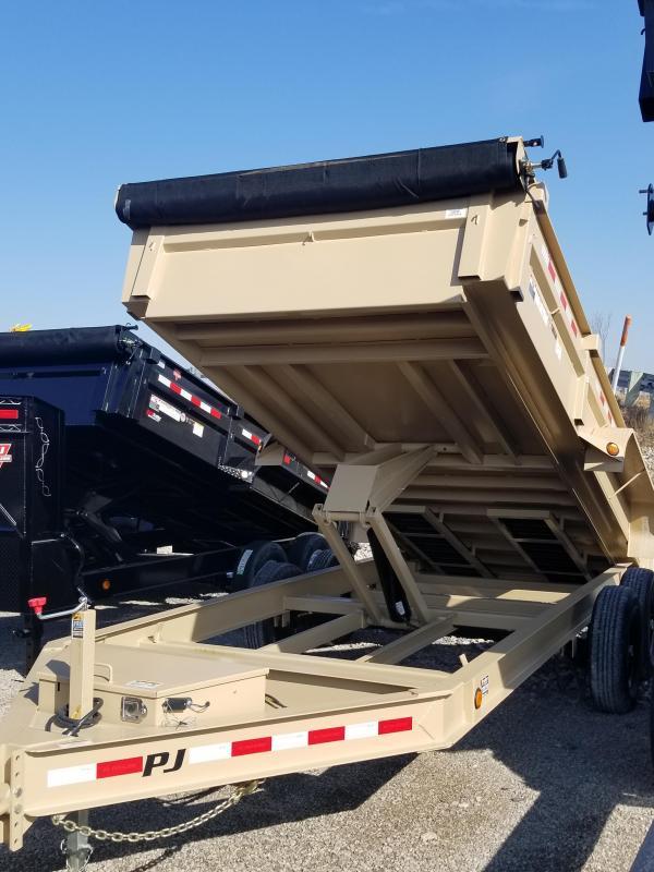 2019 PJ Trailers 16ft Dump Trailer in Ashburn, VA