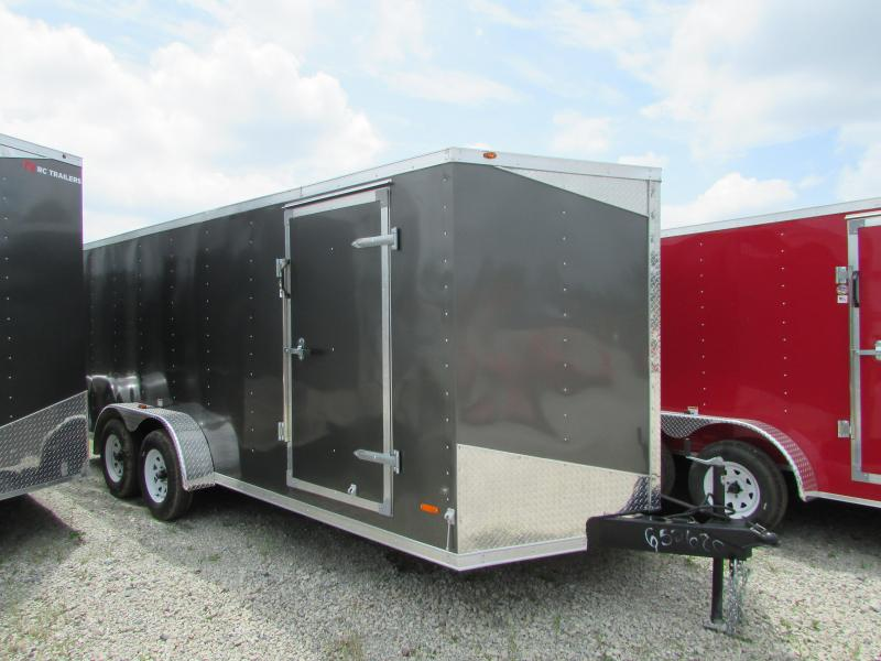 2019 RC Trailers 7 X 18 V Nose Enclosed Cargo Trailer