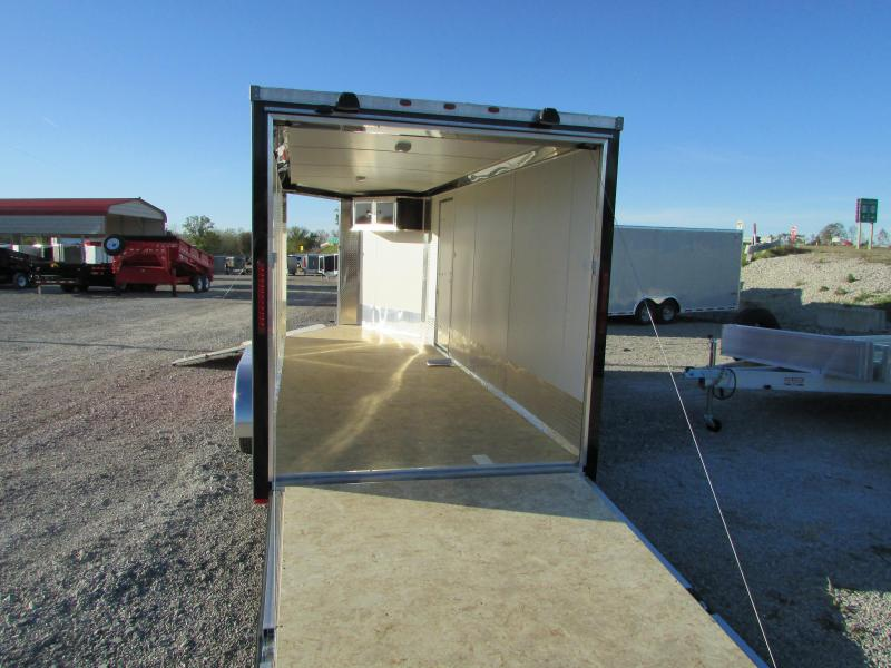 2019 RC Trailers 7 X 23 Snowmobile Enclosed Cargo Trailer