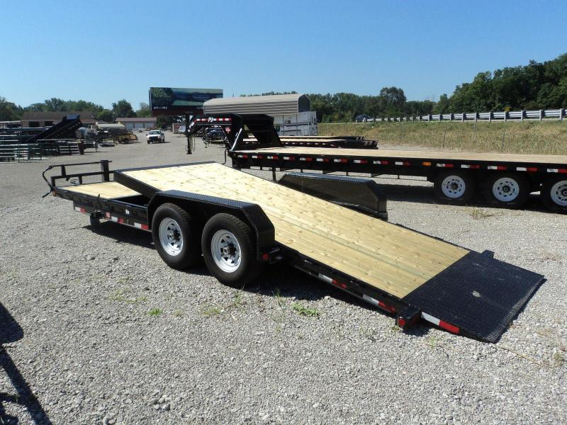 2018 PJ Trailers 20 Equipment Tilt Flatbed Trailer