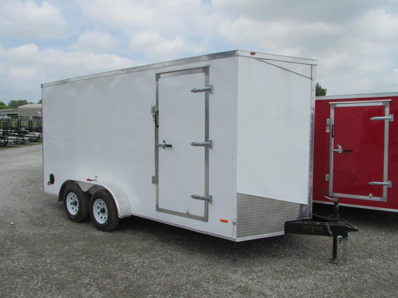 2019 RC Trailers 7 x 16 Ramp Door Extra Height Enclosed Cargo Trailer in Ashburn, VA